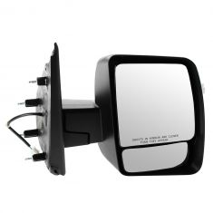 12-13 Nissan NV 1500, 2500, 3500 Power w/Textured Black Cap Mirror RH