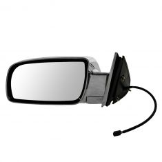92-00 GM Full Size PU; 92-99 FS SUV, Suburban ALL CHROME Power Mirror LH