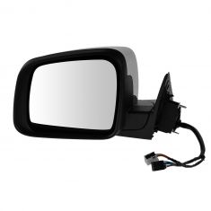 11-13 Jeep Grand Cherokee Pwr, Htd, Turn Signal, Mem, (w/o Blind Spot Detect) w/Chrome Cap Mirror LH