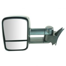 88-00 Chevy C/K PU SUV Suburban Manual Towing UPGRADE Mirror LH