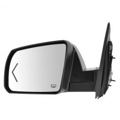 14-15 Toyota Tundra Power Folding, Memory, Heated, Puddle Light, Turn Signal w/Chrome Cap Mirror LH