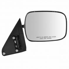 88-02 GM Full Size PU, SUV Manual Mirror w/Chrome Head RH