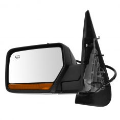 07-13 Expedition, Navigator Power Folding, Htd, Pud Light, Memory, LED Turn Signal Text Bl Mirror LH