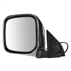 97-04 Mitsubishi Montero Sport Chrome Power Mirror LH