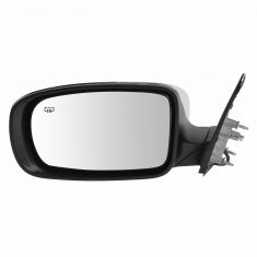 11-14 Chrysler 300 Power Heated Manual Fold Chrome Mirror LH