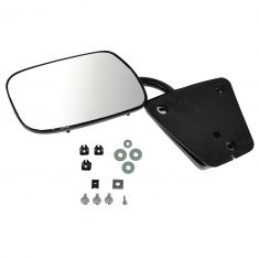 73-91 GM Truck Black Manual Mirror LH = RH