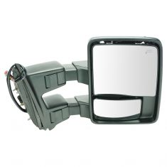 08-10 Ford SD PU Pwr Fld, Pwr Telescope Htd Smoke Sig & Clrnce Lite Tow Mirror (w/o Cap) RH (New TR)