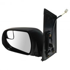 15-16 Toyota Sienna Power (w/Spotter Glass) Mirror w/Textured Cap LH