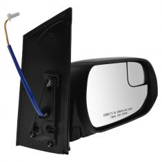 15-16 Toyota Sienna Power (w/Spotter Glass) Mirror w/Textured Cap RH