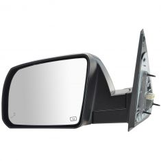 14-16 Toyota Tundra Power, Heated (w/Blind Spot Indicator) PTM Cap Mirror LH