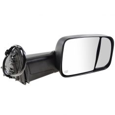 13-15 Ram 1500; 13-14 2500 Power Folding, Heated, Mem, TS, Pud Light, Txt (6x9) Head Mirror RH