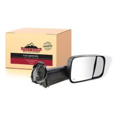 13-17 Ram 1500, 2500, 3500 Power Folding, Heated, Mem, TS, Pud Light, Txt (6x9) Head Mirror RH (TR)