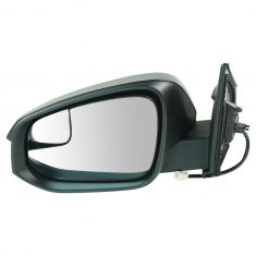 14 (from 11/14)-16 Toyota Rav4 Power Mirror (w/Convex Spotter Glass) w/Textured Black Cap LH