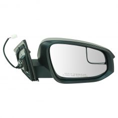 14 (from 11/14)-16 Toyota Rav4 Power Mirror (w/Convex Spotter Glass) w/Textured Black Cap RH