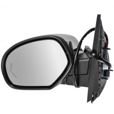 09-13 Avalnch; 09-14 FS SUV, Sierra Power Folding, Htd, Mem, PL, 11 LED TS Chrome Cvr Mirror LH