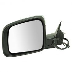 14-16 Jeep Grand Cherokee Power Folding, Heated, Memory, LED TS on Hsg, Pud  L, Chrme Cap Mirror LH