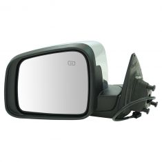 11-16 Dodge Durango Power, Heated w/Chrome Cap Mirror LH