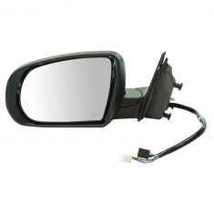 14-17 Jeep Cherokee Power, Heated w/Memory, Turn Signal & Puddle Light PTM Mirror LH