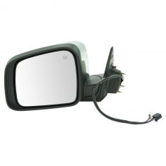 11-17 Dodge Durango Power, Heated, Memory (w/Housing Mounted LED Turn Signal) w/Chrome Cap Mirror LH