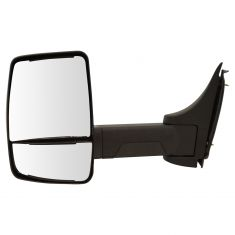 03-17 Chevy Express, GMC Savana Cut-Away Van Dual Glass Txt Blk Manual Tow Mirror LH