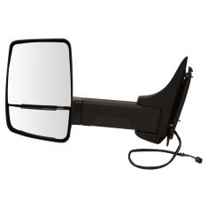 03-17 Express, Savana Cut-Away Van Dual Heated Glass, Text Black Power Tow Mirror LH