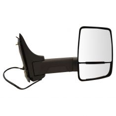 03-17 Express, Savana Cut-Away Van Dual Heated Glass, Text Black Power Tow Mirror RH