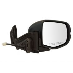 16-17 Honda Pilot; 17-18 Ridgeline Power w/Textured Black Cap Mirror RH
