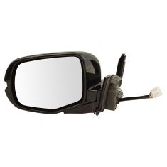 16-17 Honda Pilot Power, Heated, w/Memory & Turn Signal w/Gloss Black Body & PTM Cap Mirror LH