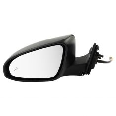 16-17 Toyota Camry Power Heated BSD Mirror PTM LH