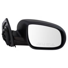 10-11 Hyundai Accent HB Power Textured Black Mirror RH