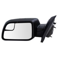 11-14 Ford Edge Power Blind Spot Textured Black Mirror LH