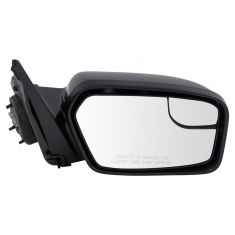 11-12 Ford Fusion Power w/Spotter Glass Gloss Black Mirror RH