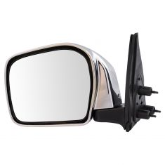 01-04 Toyota Tacoma Manual Chrome Mirror LH