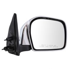 01-04 Toyota Tacoma Manual Chrome Mirror RH