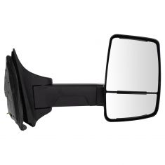 99-10 F250-F550; 00-05 Excursion (Long Arm, Dual Glass) Upgraded Manual Textured Black Mirror RH