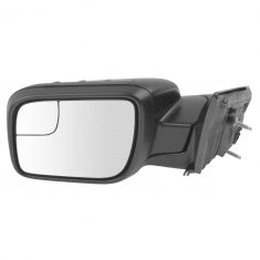 11-15 Explorer Pwr Folding, Htd, TS, Puddle Light ~EXPLORER~ Logoed PTM Dual Glass Mirror LH (Ford)