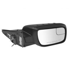 11-15 Explorer Pwr Folding, Htd, TS, Puddle Light ~EXPLORER~ Logoed PTM Dual Glass Mirror RH (Ford)