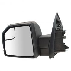 15-16 Ford F150 Textured Black Power Mirror w/Spotter Glass LH (Ford)