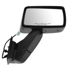 06-07 (thru 1/23/07) Hummer H3 Black Power Mirror RH (GM)