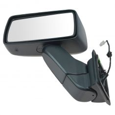 07 (from 1/14/07)-10 Hummer H3; 09-10 H3T Textured Power Mirror LH (GM)
