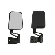 Door Mirror Kit, Black, 87-02 Jeep Wrangler