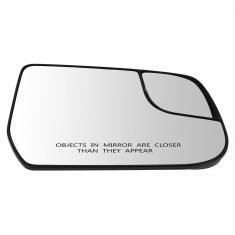 12-13 Chevy Equinox, GMC Terrain Power Mirror Glass w/Backing Plate RH