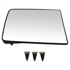 04-14 F150 NB; 99-15 F250SD-F550SD (w/Afterm Tow Mirror) Non Htd Mirror Glass w/Backing Plate RH
