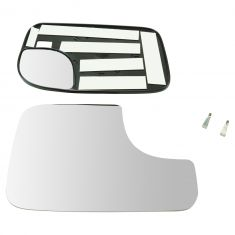 94-08 Ram 1500; 94-09 2500, 3500; 05-15 Tacoma (w/TS on CC Head) Tow Mirror Dual Glass w/Mtg Plte RH