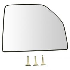 15-17 Ford F150; 17 F250SD-F550SD (w/OE Tow Mirror) Non Heated Upper Mirror Glass w/Backing RH