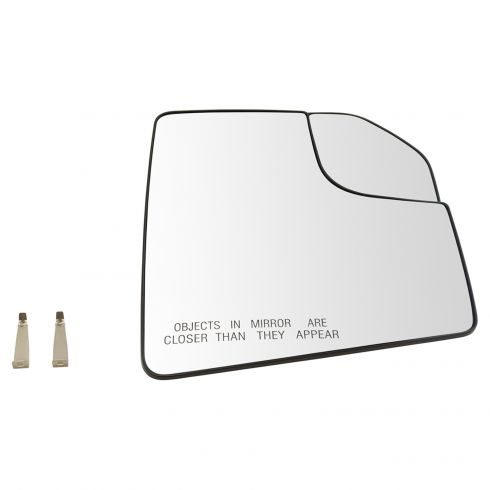15-17 Ford F150 (w/OE Non Towing Mirror w/Spotter Glass) Convex Mirror Glass w/Backing RH