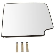 88-17 GM FS SUV, PU; 07-17 Tundra; 08-17 Sequoia (w/CC 2014 Tow Mir Head) Up Mirror Glass w/Bckng RH