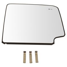 15-17 GM FS SUV (w/CC Tow Mirror) Heated Upper Mirror Glass w/BSM Indicator & Backing Plate RH