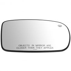 11-14 Chrys 200, Charger; 12-14 300, Challenger Power, Htd, Man Fold Mirror Glass w/Backing RH (MP)