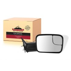 94-02 Dodge Ram PU Manual Tow Mirror w/Brkt RH (TR)